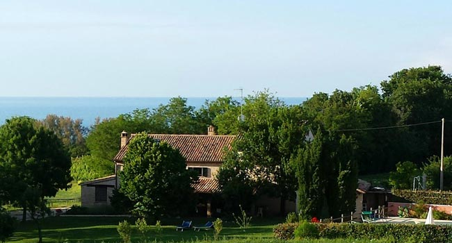 Holiday Farmhouse with Sea View and Swimming Pool Le Marche Italy